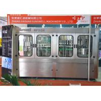 China PET bottle mineral water filling machines bottling line equipment with Plastic Screw Cap on sale