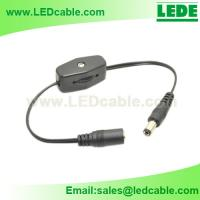 Rotary On-Off  Inline Switch with DC Cable For LED Lighting for sale