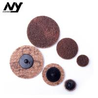 Quality 2 Inch Quick Change Abrasive Discs Metal Polishing TS TR Type Support  Flax Nylon for sale