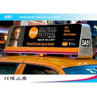 Quality High Density P5 Taxi Led Display 1R1G1B , Taxi Roof Advertising Signs for sale