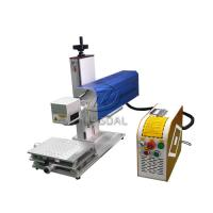 Quality Mini Glasses Lens Marking Machine Co2 RF Laser Marking Machine 30W for sale