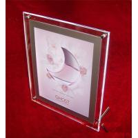 Quality acrylic vase with photo frame for sale