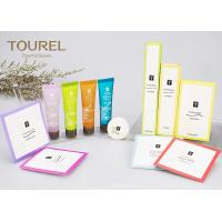 Quality 5 Star Hotel Balfour Acrylic Custom Hotel Amenities With Paper Bag for sale