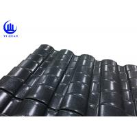 Quality Beautiful Villa ASA Color Corrugated Plastic Roofing Sheets Customized For New Countryside for sale