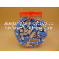 Quality Novelty Healthier Round Milk Tablet Candy Delicious For Christmas / Holiday for sale