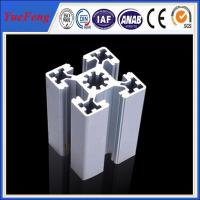 Quality aluminum alloy 6063 Extrusion T-Slot industrial Aluminum Profile in stock for sale