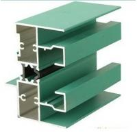 Quality 6005 T5 Aluminum Window Extrusion Profiles With Mill Finished / Powder painted / Anodized  Surface for sale