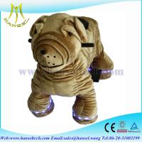Quality Hansel high qulity battery operated plush animal electronic rides for sale