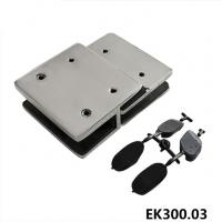 Buy cheap Glass fence get spring loaded door latch with hook safety latch -EK300.03 from wholesalers