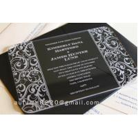 Quality acrylic invitation for sale
