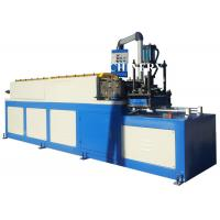 Buy Fire / Vane Smoke Damper Roll Forming Machine Square / Rectangle Duct at wholesale prices