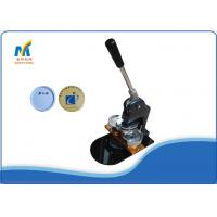 Buy 75MM Round Badge Making Machine Manual Light Weight Portable For DIY Logo at wholesale prices