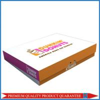 Quality custom made food grade donuts paper packing box for sale
