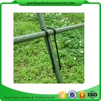 Quality Black Garden Plant Accessories Wire  Buckle Gardening Cross Pillar Connecting Pieces for sale