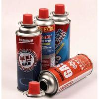 Quality Pressurized Spray Can Aerosol Spray Metal Tin Can , Butane Gas Canister for sale