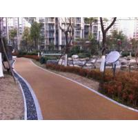 Quality Noise Absorbting EPDM Rubber Jogging Track Concrete / Asphalt Foundation For Public Areas for sale