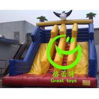 Buy Best selling   inflatable eagle  slide  with 24months warranty GT-SAR-1656 at wholesale prices