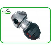 Quality Casted Steel Sanitary Diaphragm Valve , Diaphragm Pneumatic Valve Non Retention for sale