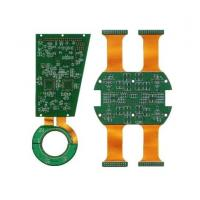 Quality Verious types rigid flexible pcb Green Sodermask with quick delivery for sale