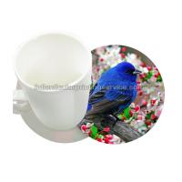 Quality Durable 0.6mm PET/PP 3D Lenticular Coasters UV Offset CMYK Printing for sale