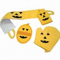 Quality Promotional/Gift Bath Set for Halloween/Christmas, Various Styles are Available for sale