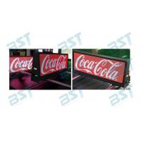 Quality Double Side Taxi LED Display P2.5 P5 Full Color 3G/4G / Wifi Wireless For Advertising for sale