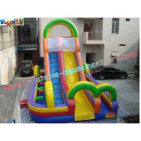Outdoor Commercial Grade PVC Slide Inflatable Obstacle Course Tunnel For Adults & Children