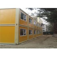 Quality Demountable Solid Delicate Recycled Prefab Storage Container Homes for Supermarket for sale