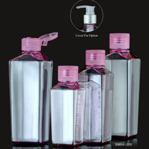 Quality Low MOQ 300ml liquid hand soap bottle plastic PET bottle 300ML empty pump bottle for sale