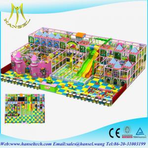 Quality Hansel soft foam indoor playground kid's zone indoor soft playground equipment for sale
