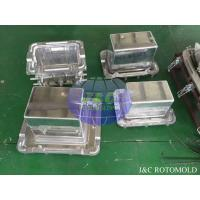 Quality Aluminum Rotational Molds With Mirror Surface Treatment , Ice Boxes Roto Moulder for sale