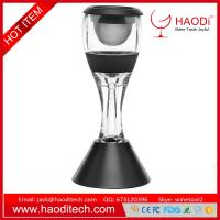 China Perfect Wine Decanter Set Essential Red Wine Aerator Filter Set Bar Tools Gift on sale