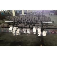 Quality ASTM 34CrNiMo6 Alloy Steel Forged Shafts Crankshaft Forging For Low Speed Diesel Engine for sale