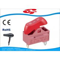 Quality Hair dryer 10A 250V ON OFF Electrical Rocker Switches KND-2-A2 CE Rohs approval for sale