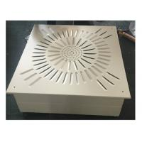 Quality Ceiling And Wall Laminar Flow Diffuser HEPA Filter Box For Clean Room for sale