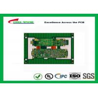 Quality Immersion Gold Rigid-Flexible PCB Green 8 Layer PCB Circuit Board for sale