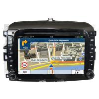 Quality Double Din FIAT Navigation System High Resolution With Capacitive Touch Panel for sale