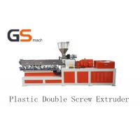 Buy cheap Double Screw Plastic Extruder Making Machine For PP PE ABS PVC from wholesalers