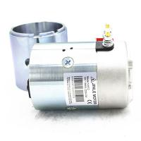 Quality 2700Rpm Hydraulic 24v Electric Motor 2.2KW N2024 Silver Color With Shaft for sale