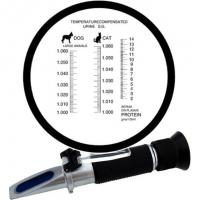 Pet clinical refractometer Dogs and Cats veterinarians Serum Protein