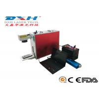 China High Precision Laser Logo Printing Machine , 3d Laser Engraving Machine For Metal on sale