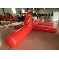 Quality Fur Seal Cartoon Kids Water Inflatables 5 X 1m , Amusement Park airtight obstacles clown Blow Up Pool Toys for sale
