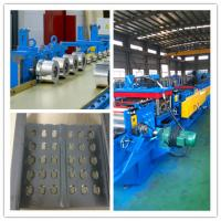 Quality Fully Automatic PLC control system cable tray roll forming machine 20 roller stations cold sheet for sale