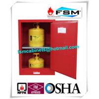 Quality Durable Fireproof Paint Storage Lockers 12 Gallon For Combustible Liquid for sale
