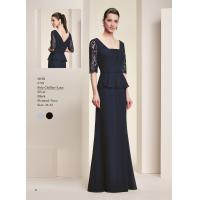 Quality Blue Lace sleeves Mother of the bride dress evening dress #9793 for sale