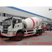 Quality 8m3 FOTON ROWOR 6x4 concrete mixer truck for sale