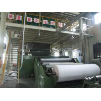 China Shopping Bag PP Non Woven Fabric Making Machine Double Beams Spunbond on sale