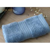 Quality Simple face  towel with platinum dobby pattern fabrication size 32cm by 32cm for sale