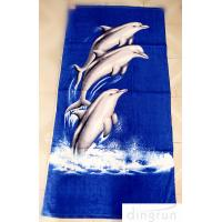 Quality OEM Personalized Printed Beach Towel , 70*140cm Eco-Friendly Dryfast for sale