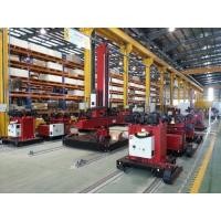 Quality Land Wind Tower Steel Tube Tower Robust Structure Welding Column Boom With Trolley for sale